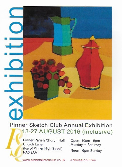 PSC Summer Exhibition16 poster