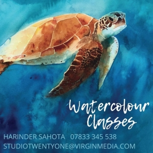 Harinder Sahota Watercolour Classes