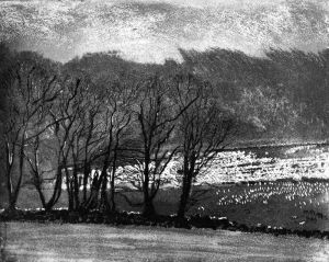 Ann_Burnham_Winter_day_at_Glendalough,_Ireland