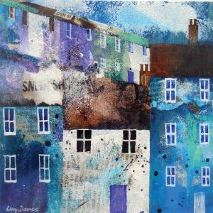 Lucy Davies_Village in Blue_ 3