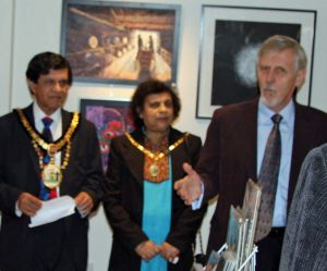 Mayor opens Harrow Open Studios' Taster Exhibition