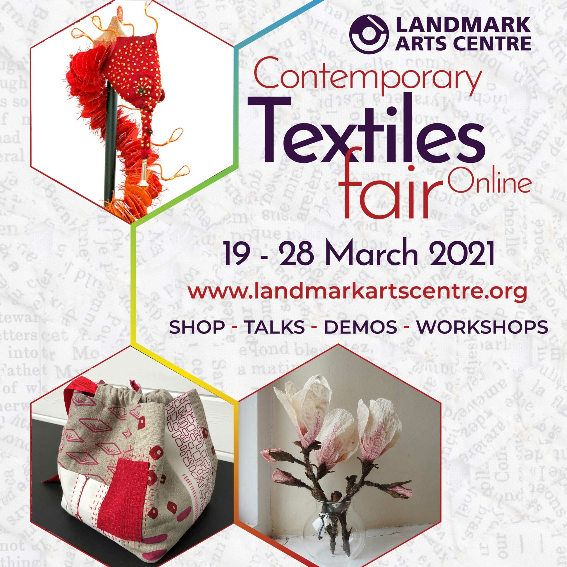 Colette and Samantha will be taking part in the Online Contemporary Textiles Fair, 19-28 March