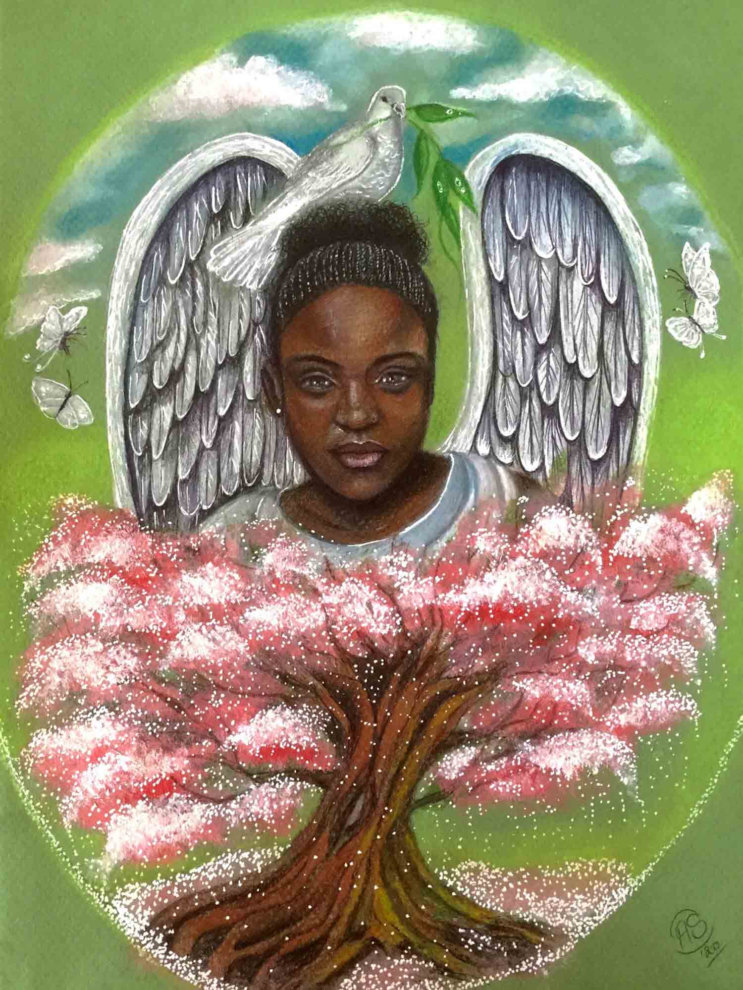 Angel of Peace by Antonella Sands