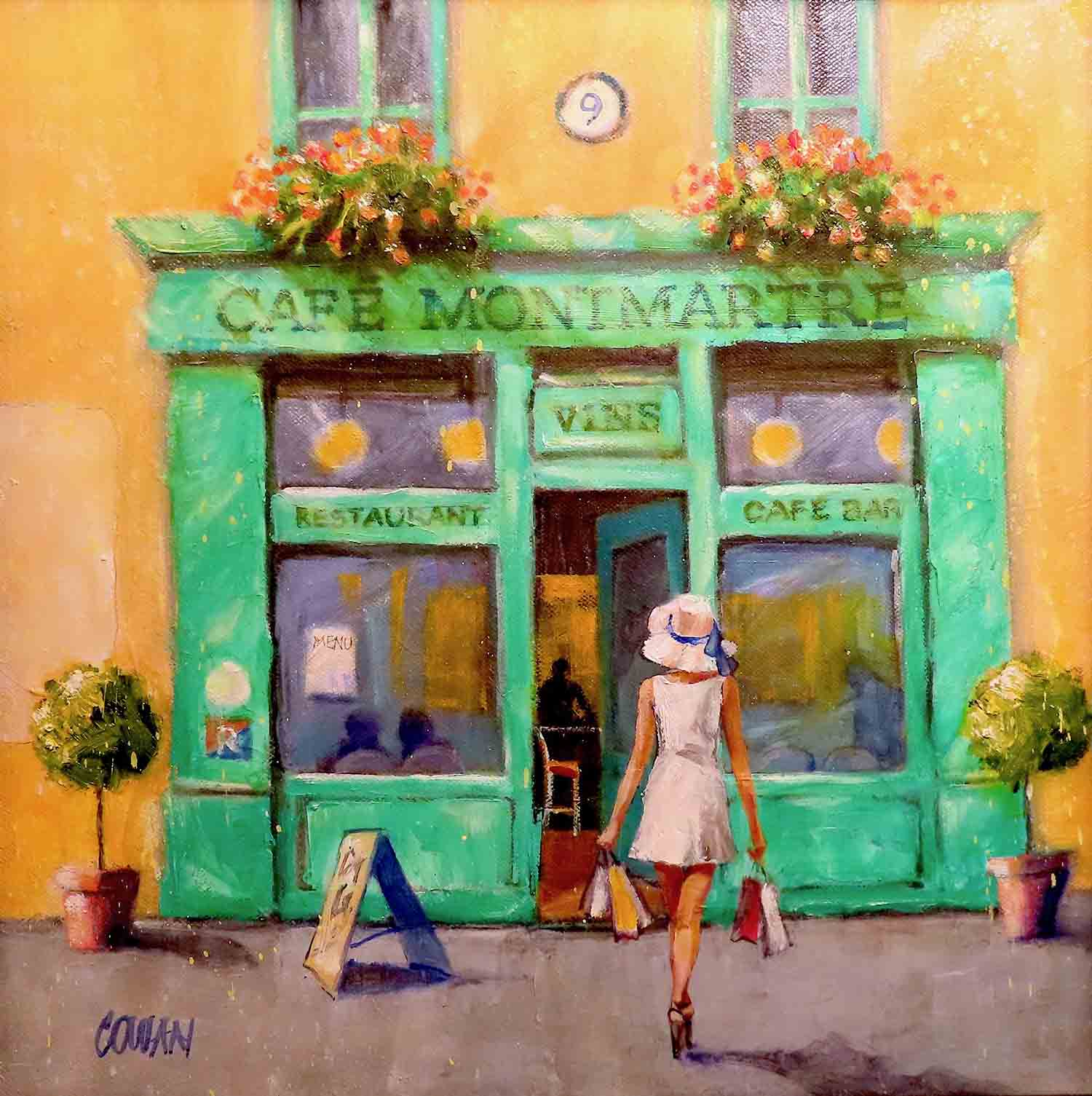 Cafe Montmartre by Brian Cowan