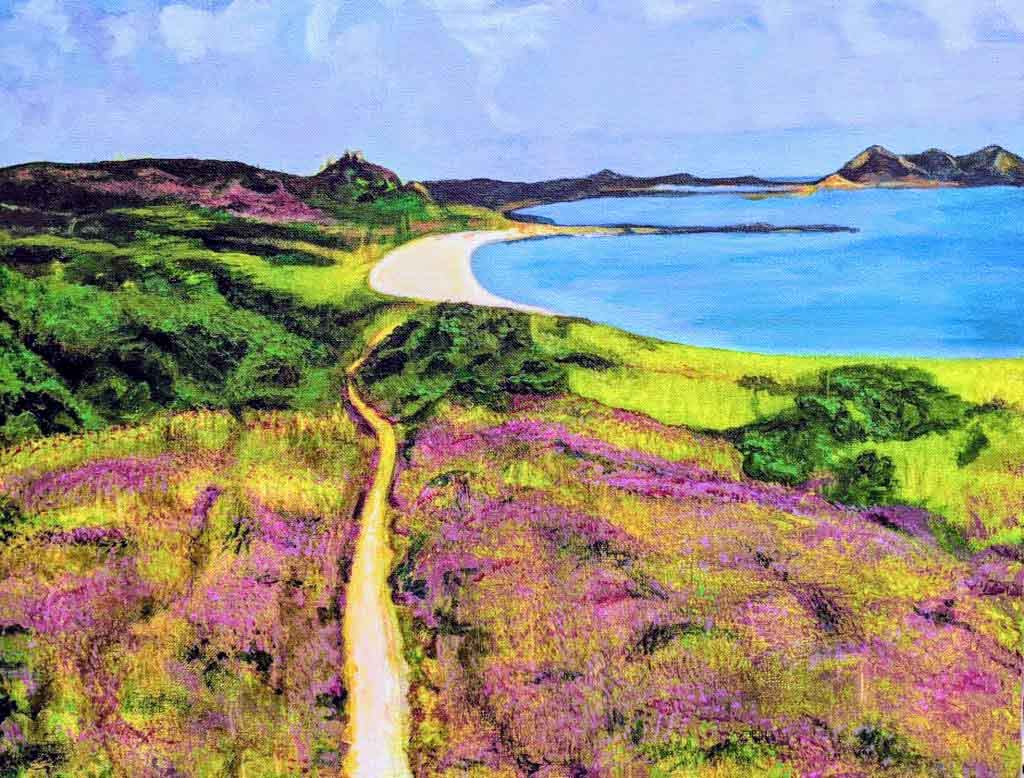 St Martins, Scilly Isles by Mallika Gardiner